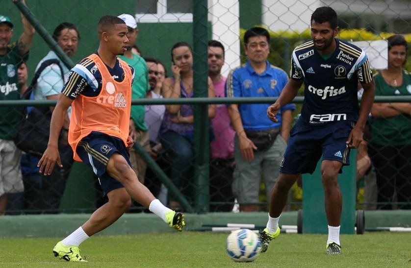 Elenco encerrou neste sábado (3) a preparação para enfrentar a Chapecoense. (Cesar Greco/Ag.Palmeiras/Divulgação)