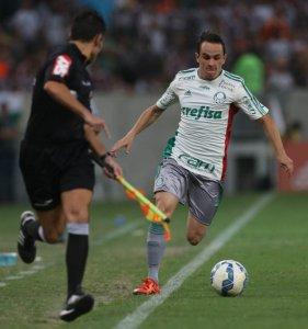 Lateral-direito Lucas se mostrou confiante após partida no Rio de Janeiro. (Cesar Greco/Ag.Palmeiras/Divulgação)