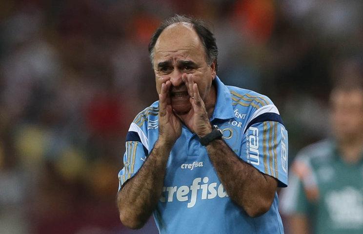 Marcelo Oliveira celebrou vitória deste domingo (06) e temporada de sucesso no Verdão. (Cesar Greco/Ag. Palmeiras/Divulgação)