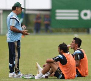 Marcelo Oliveira divulgou a lista dos relacionados nesta terça-feira (27). (Cesar Greco/Ag. Palmeiras/Divulgação)