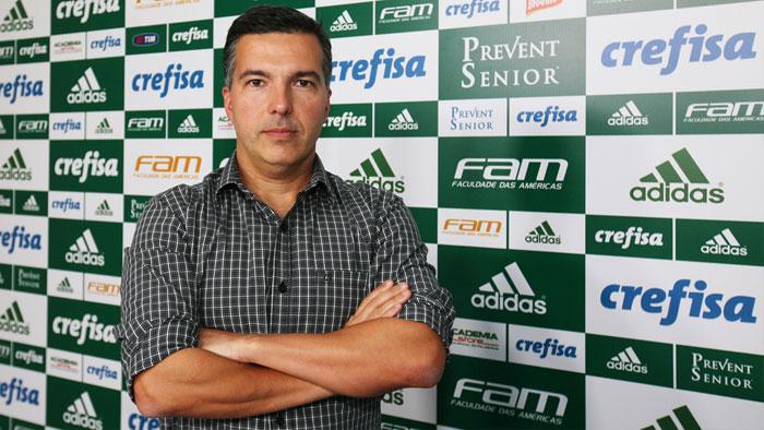 Roberto Trinas passa a comandar o Departamento de Marketing do Verdão. (Fabio Menotti/Ag.Palmeiras/Divulgação)