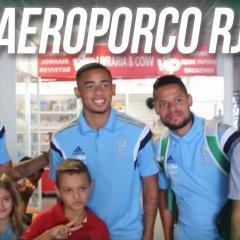 #AEROPORCO – Verdão chega ao Rio de Janeiro