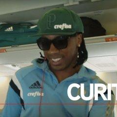 Verdão viaja para Curitiba para enfrentar o Atlético-PR
