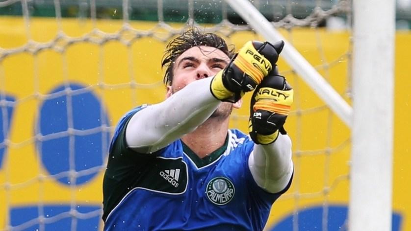 Daniel Fuzato recebe a segunda oportunidade consecutiva na Seleção Sub-20. (Fabio Menotti/Ag. Palmeiras/Divulgação)