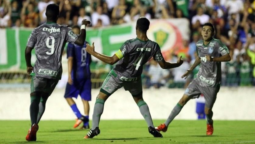 Daniel marcou o segundo gol do Verdão na vitória sobre o São José dos Campos. (Fabio Menotti/Ag. Palmeiras/Divulgação)