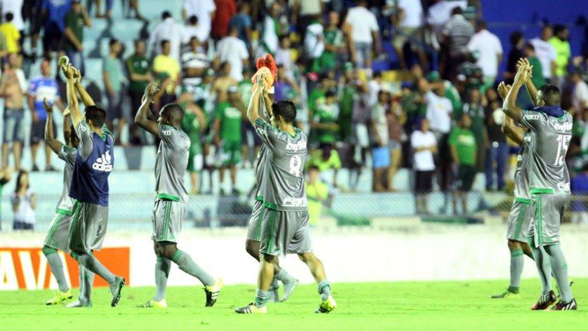Palmeiras esteve muito perto de conquistar a vaga, mas deixou a competição nas cobranças de penalidades. (Fabio Menotti/Ag. Palmeiras/Divulgação)