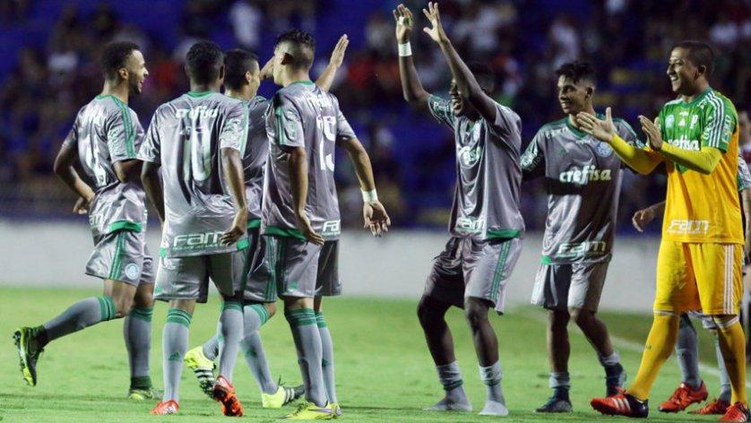 Verdão superou com facilidade o Flamengo-SP, por 4 a 1. (Fabio Menotti/Ag.Palmeiras/Divulgação)