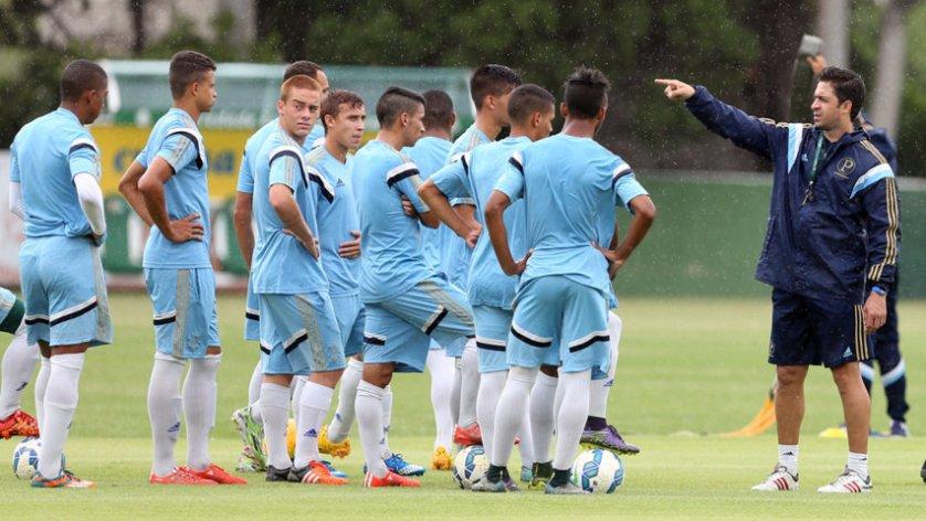 Palmeiras se prepara para buscar primeiro título da Copa São Paulo. (Fabio Menotti/Ag.Palmeiras/Divulgação)