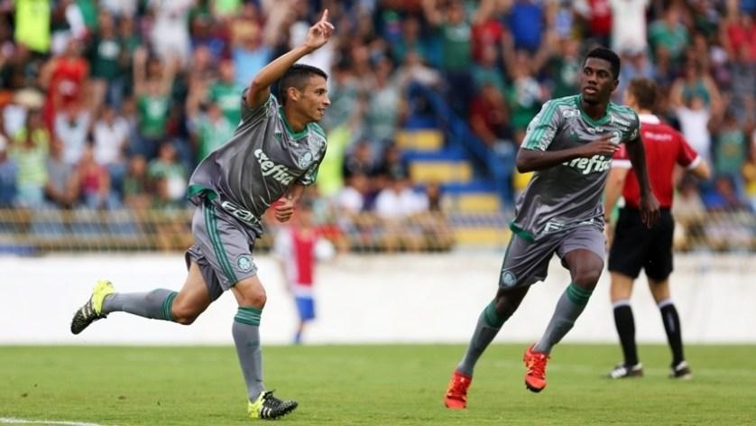 Palmeiras bateu maranhenses nesta quinta-feira (14) e está nas oitavas da Copinha. (Fabio Menotti/Ag.Palmeiras/Divulgação)