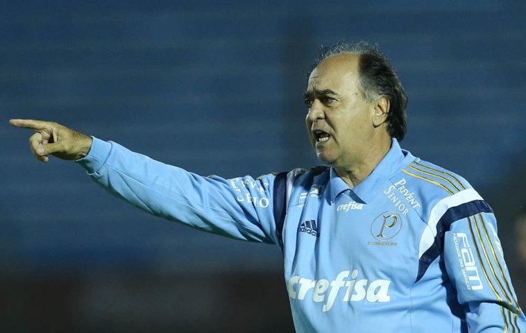 Marcelo Oliveira prepara a equipe para a disputa do Paulistão e da Libertadores. (Cesar Greco/Ag.Palmeiras/Divulgação)