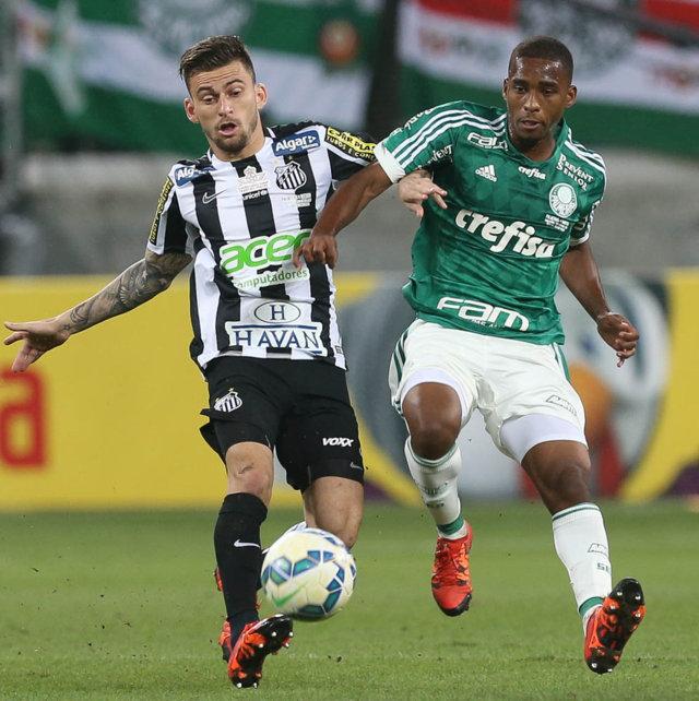 Matheus Sales foi fundamental na conquista da Copa do Brasil 2015. (Cesar Greco/Ag.Palmeiras/Divulgação)