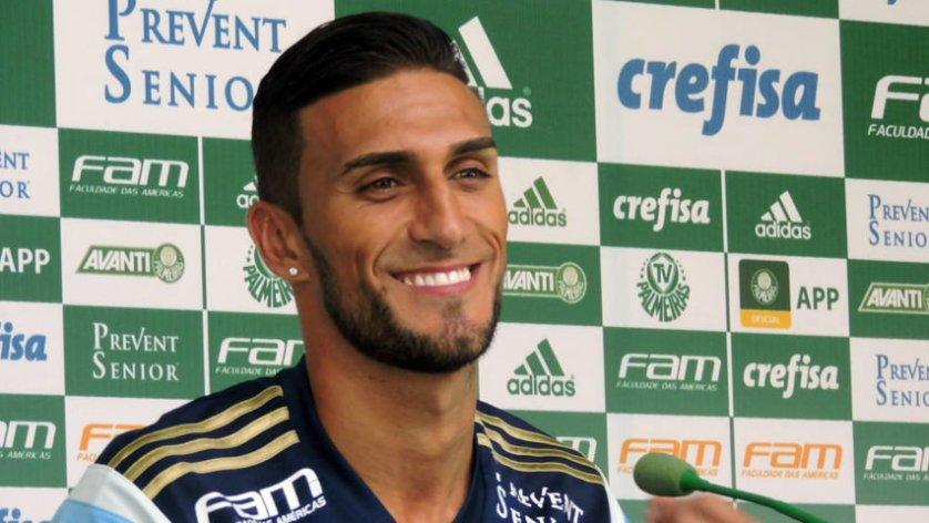 Rafael Marques teve seu contrato renovado por mais dois anos. (Mídia Palmeirense)
