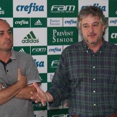 Workshop com funcionários do Palmeiras na Academia de Futebol