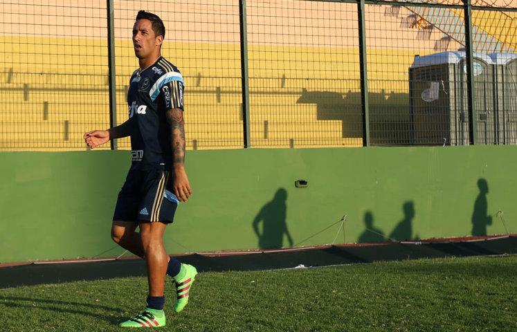 Barrios se mostrou confiante sobre estreia do Verdão na Libertadores. (Cesar Greco/Ag.Palmeiras/Divulgação)