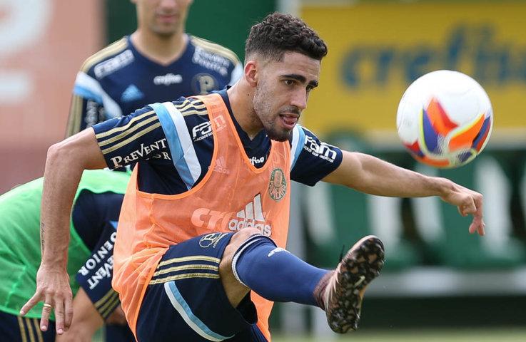 Reservas do Verdão treinaram nesta segunda-feira (01). (Cesar Greco/Ag.Palmeiras/Divulgação)