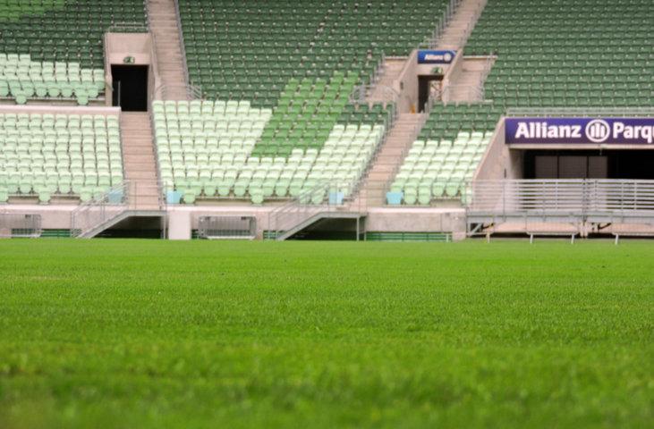 Gramado do Allianz Parque está pronto para voltar a receber os jogos do Palmeiras. (Mídia Palmeirense)