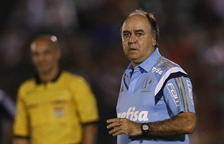 Marcelo Oliveira estreou com vitória no Campeonato Paulista. (Cesar Greco/Ag.Palmeiras/Divulgação)