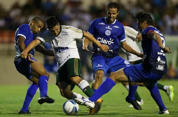 Palmeiras volta a encarar o São Bento nesta quinta-feira (4), pelo Campeonato Paulista de 2016. (Cesar Greco/Ag.Palmeiras/Divulgação)