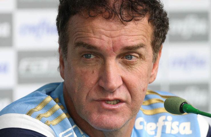 Cuca enxerga recuperação da equipe palestrina nas próximas partidas. (Cesar Greco/Ag.Palmeiras/Divulgação)