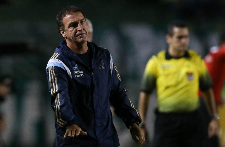 Cuca avaliou equipe após revés diante do Red Bull. (Cesar Greco/Ag.Palmeiras/Divulgação)