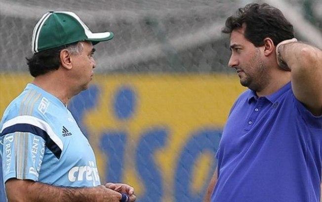 O diretor de futebol Alexandre Mattos anunciou a saída do técnico Marcelo Oliveira do comando do Palmeiras. (Cesar Greco/Ag.Palmeiras/Divulgação)