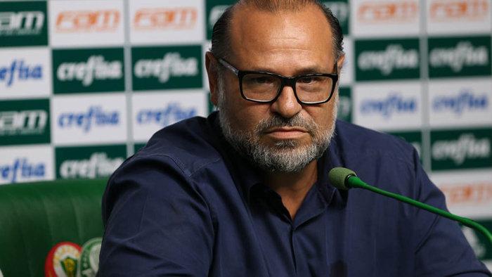 No Palmeiras há quase 20 anos, doutor Rubens Sampaio exaltou departamento médico do clube. (Cesar Greco/Ag.Palmeiras/Divulgação)