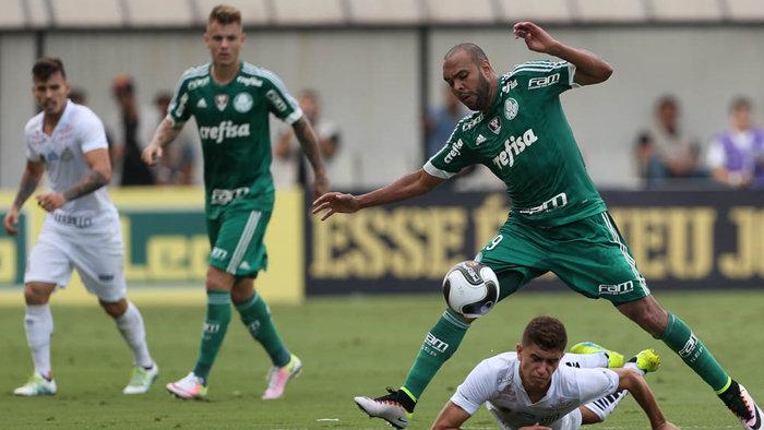 Alecsandro destacou a garra do Verdão para empatar a partida. (Cesar Greco/Ag. Palmeiras/Divulgação)