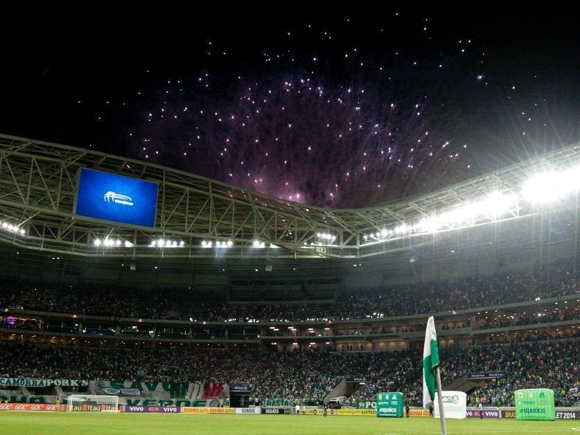 Allianz Parque chega a 2 milhões de visitantes. (AFP)