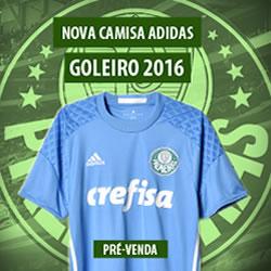 Nova camisa de goleiro Palmeiras 2016