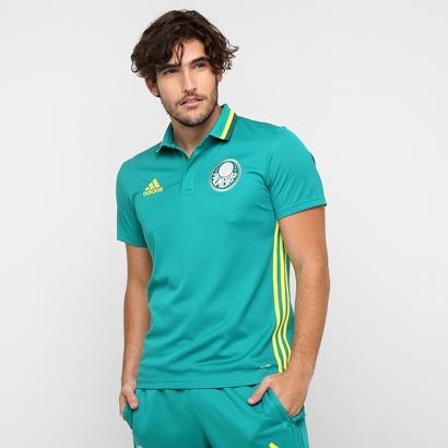 A nova camisa verde polo de viagem do Palmeiras. Preço R$ 179,99 ou em até 7x de R$ 25,71. (Divulgação)