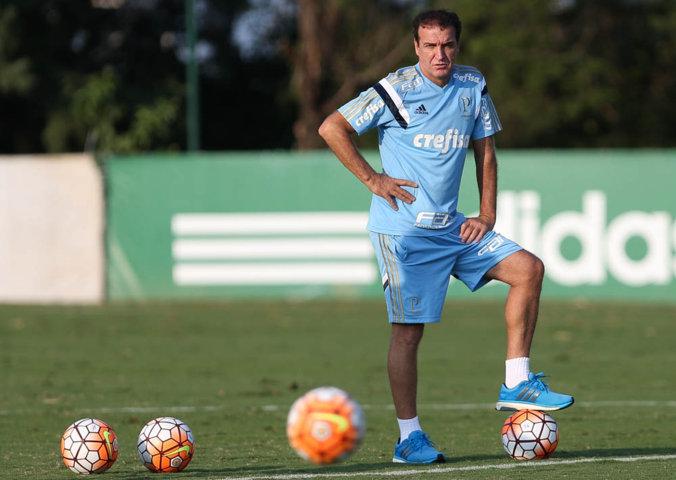Cuca relacionou 21 jogadores para decisão no torneio continental, contra o Rosario. (Cesar Greco/Ag. Palmeiras/Divulgação)
