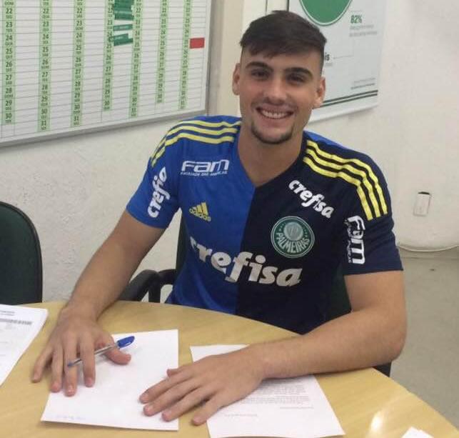 Daniel Fuzato renovou com o Verdão até o fim de 2018. (Eduardo Batista/Divulgação)