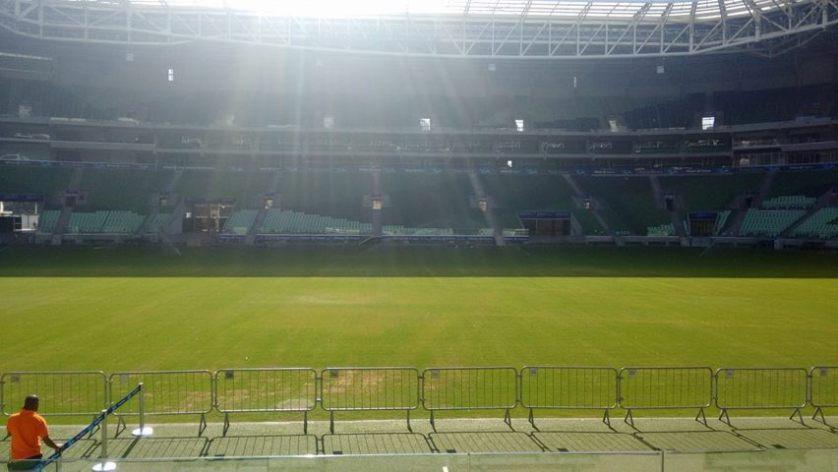 Apesar de ter recebido quatro grandes shows, gramado do Allianz Parque não preocupa para partida da Libertadores. (Divulgação/Allianz Parque)