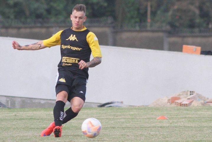 Roger Guedes é a mais nova contratação do Palmeiras para 2016. (Fernando Ribeiro/ Divulgação/Criciúma)