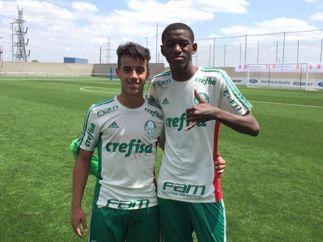Matheus Barbosa e Vitor Eduardo foram convocados para um período de treinos na Granja Comary, em Teresópolis-RJ. (Divulgação)