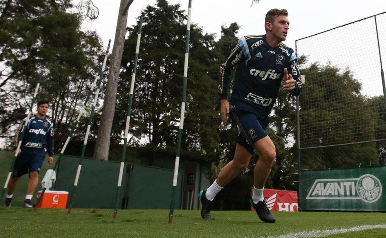 Verdão começa semana com treinos físico e técnico. (Cesar Greco/Ag. Palmeiras/Divulgação)