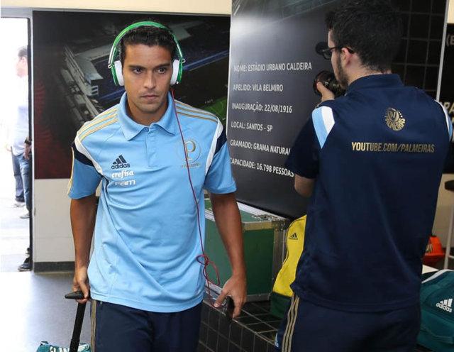 Torcedores agora têm acesso às playlists de alguns atletas do atual elenco. (Cesar Greco/Ag Palmeiras/Divulgação)