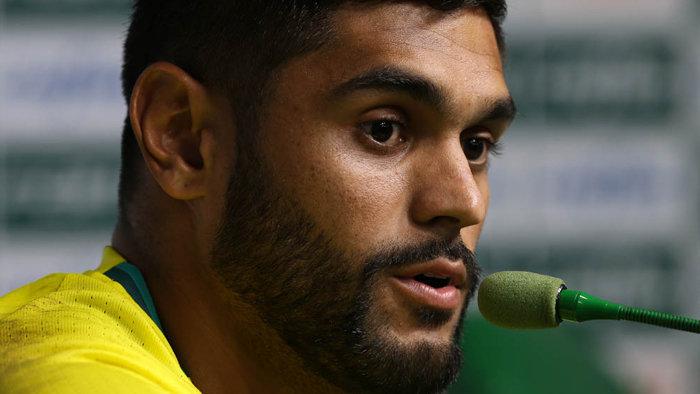 Luan voltou a ser relacionado pelo Palmeiras no último sábado (14) diante do Atlético-PR. (Cesar Greco/Ag.Palmeiras/Divulgação)
