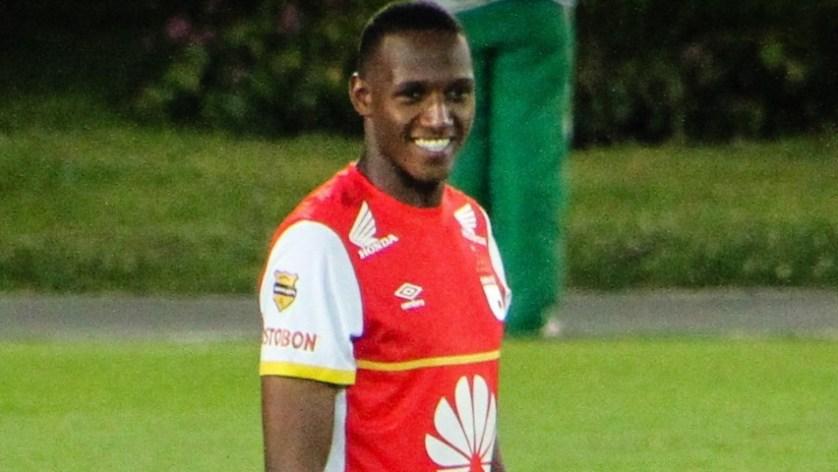 O zagueiro Yerry Mina, de 21 anos, é o mais novo reforço do Palmeiras. (Divulgação)