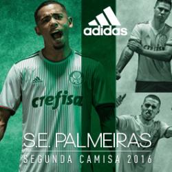 Compre a nova camisa dois do Palmeiras para 2016