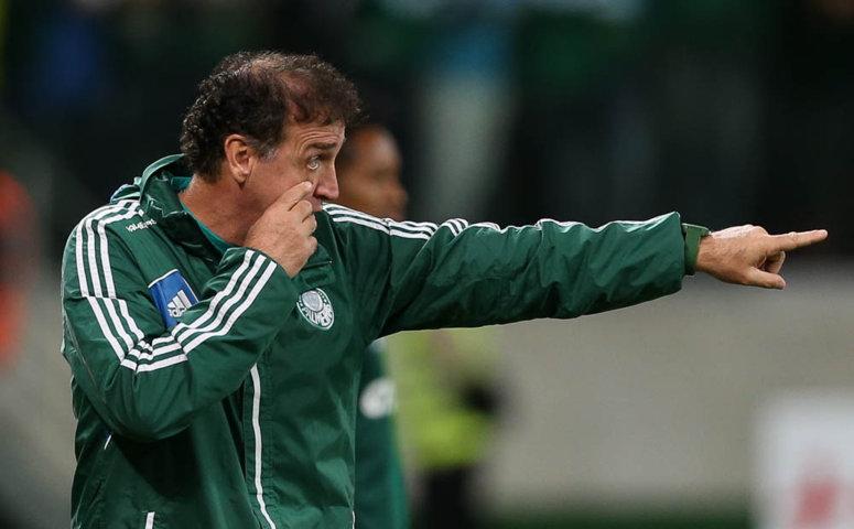 Cuca segue invicto comandando o Verdão no Allianz Parque: oito vitórias em oito jogos. (Cesar Greco/Ag.Palmeiras/Divulgação)