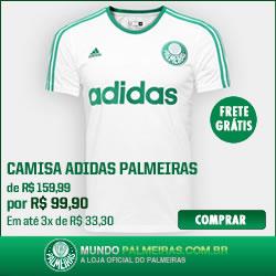 Aproveite o desconto na camiseta do Palmeiras!