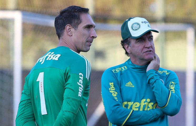 Elenco palmeirense treinou em dois períodos nesta sexta-feira (08). (Cesar Greco/Ag.Palmeiras/Divulgação)