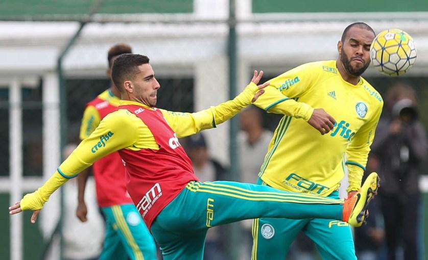 O volante Gabriel está de volta aos relacionados. (Cesar Greco/Ag Palmeiras/Divulgação)