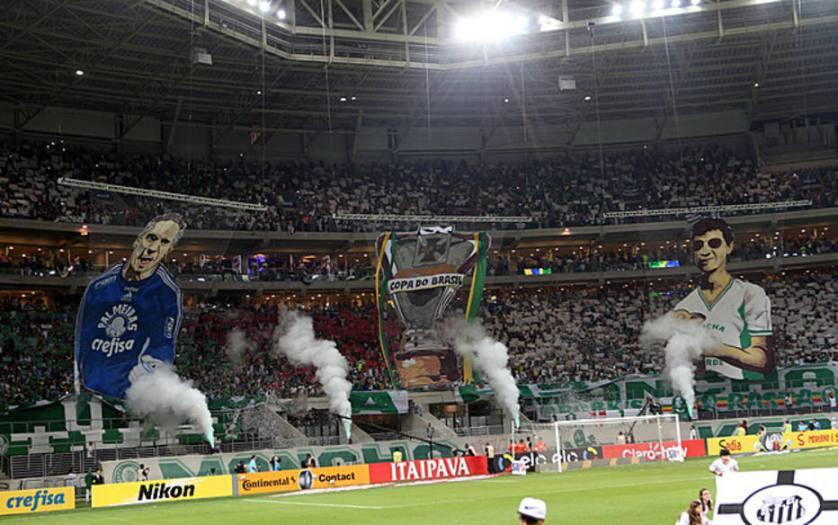 O Gol Norte do Allianz Parque é conhecido pelo setor das torcidas organizadas. (JF Diorio/Eestadão)