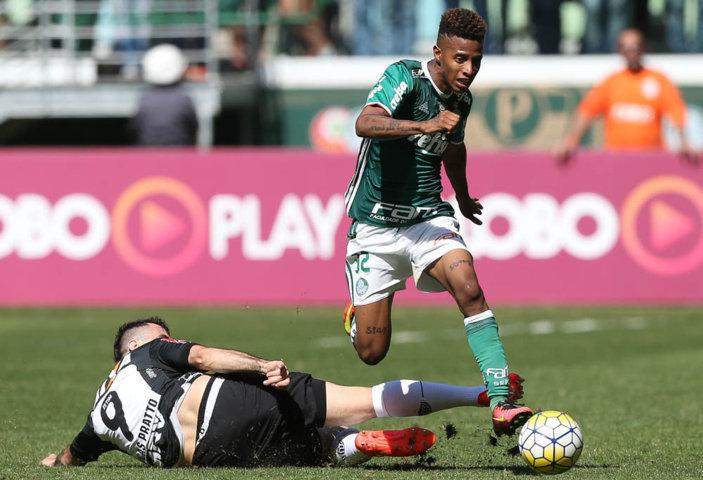 Apesar do resultado ruim, Tchê Tchê acredita que o time está 'no caminho certo'. (Cesar Greco/Ag Palmeiras/Divulgação)