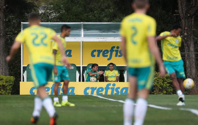Verdão finalizou na manhã deste sábado (06), na Academia de Futebol, a preparação para pegar o Vitória. (Cesar Greco/Ag Palmeiras/Divulgação)