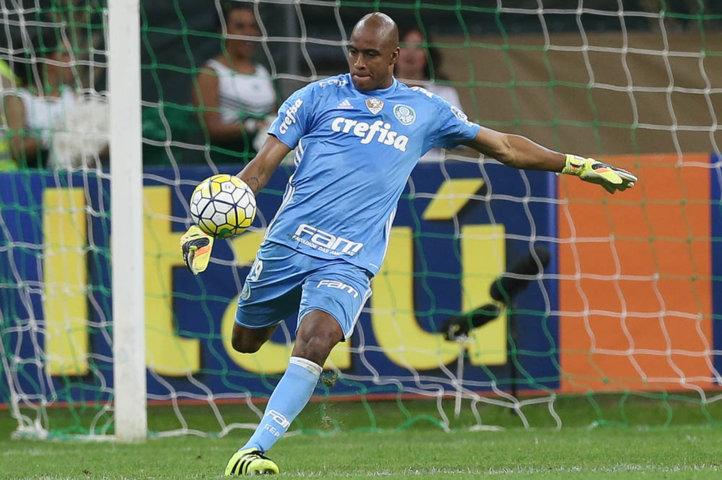 Jailson foi importante para garantir a vitória contra o Atlético-PR.(Cesar Greco/Ag.Palmeiras/Divulgação)