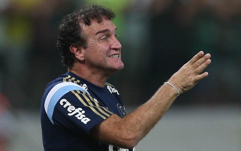 Cuca elogiou a atuação do time palmeirense, apesar da eliminação. (Cesar Greco/Ag.Palmeiras/Divulgação)
