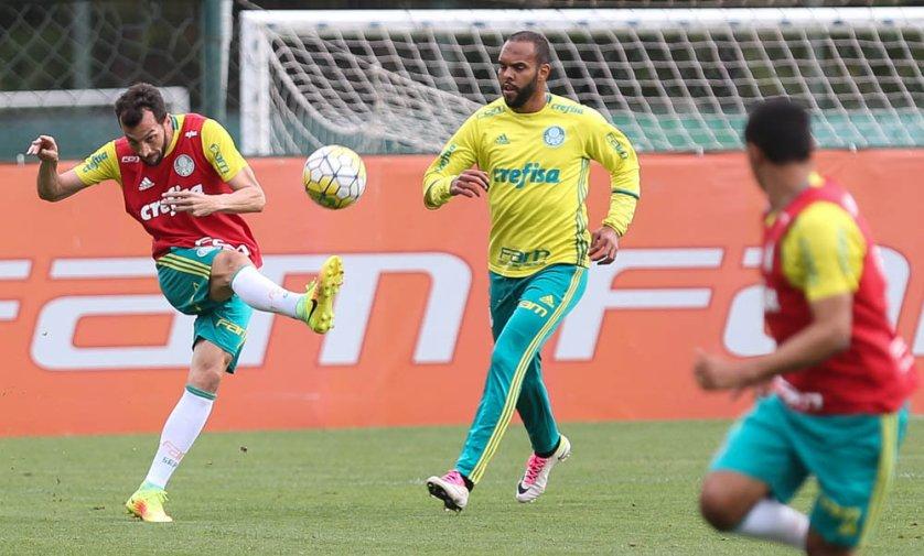 O técnico Cuca divulgou a lista dos jogadores relacionados para enfrentar o Santos. (Cesar Greco/Ag.Palmeiras/Divulgação)